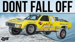 DONT FALL OFF!!! - Forza Horizon 4 - 1350hp Baja Truck
