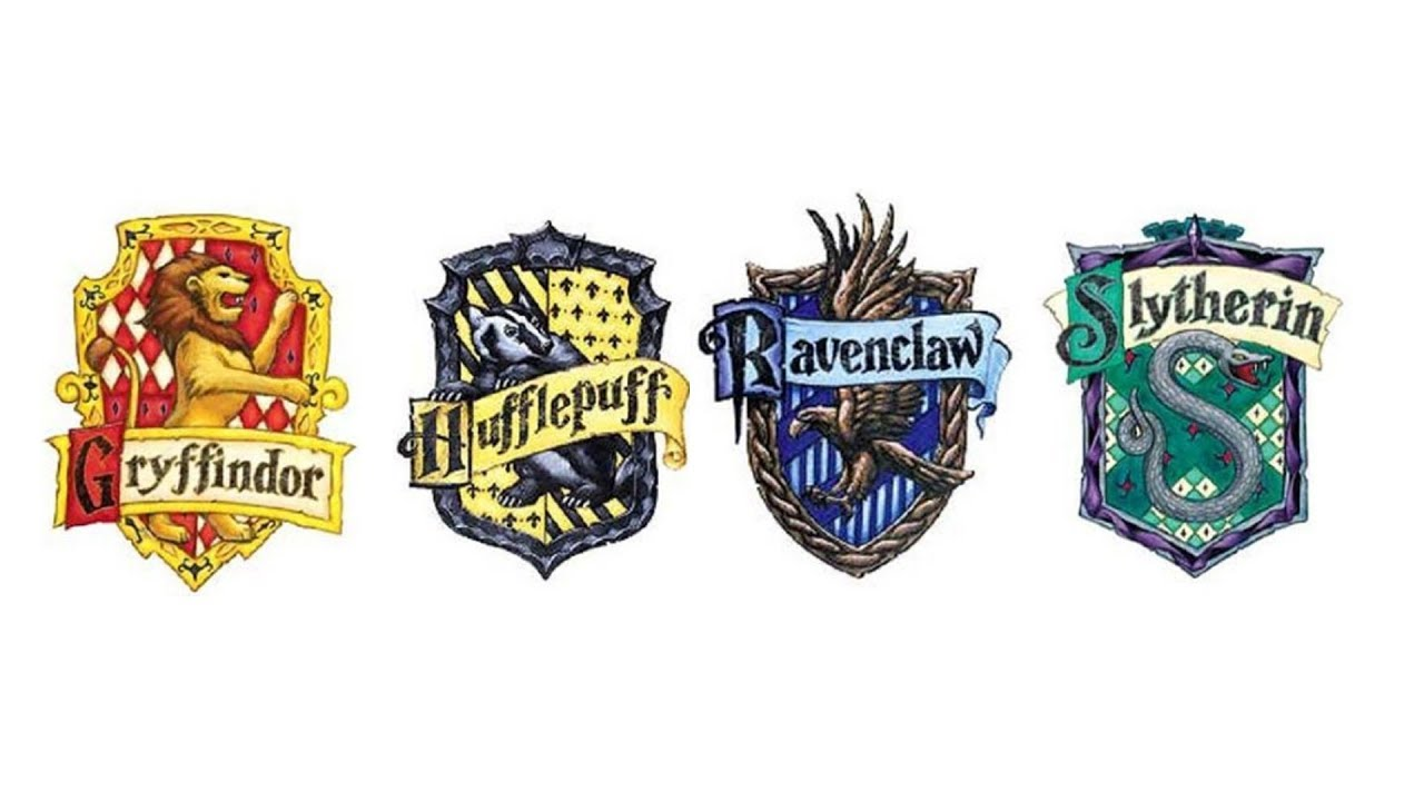 Harry Potter Houses In English Youtube