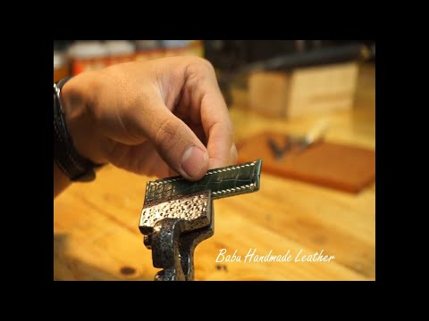 How To Make A Full Grain Alligator Watch Strap