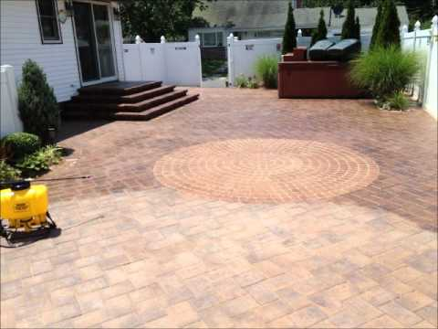 Wet Look Paver Sealing By Stone Creations Of Long Island Pavers And Masonry  Corp. Lindenhurst, N.Y
