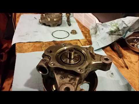 Power Steering Pump Rebuild, 2003-2007 Honda Accord 2.4L 4 cyl