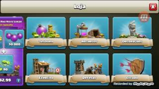 Primeiro vídeo de Guilherme Gamer de Clash of Clans