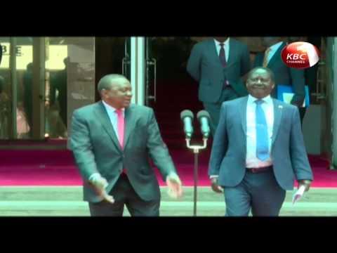 Ruto lauds the meeting between President Kenyatta and Raila Odinga