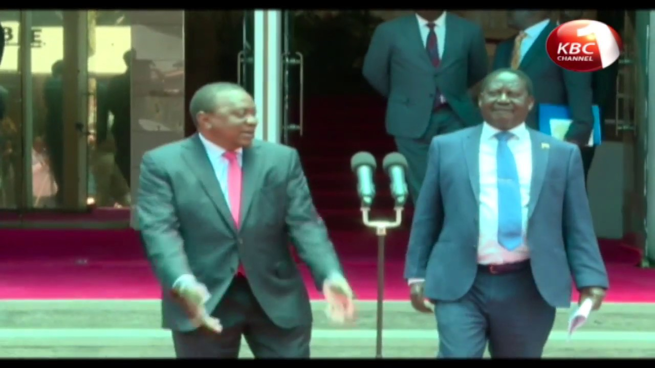 Ruto lauds the meeting between President Kenyatta and Raila Odinga