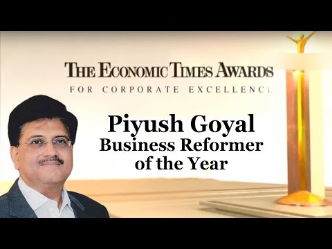 Piyush Goyal – Business Reformer of the Year