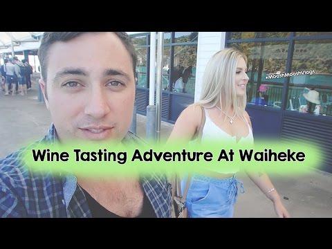 Wine Tasting Adventure At Waiheke   MooshMooshVlogs