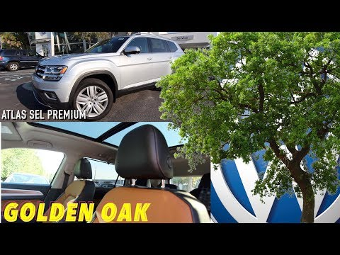 Reflex Silver VW Atlas 2018 - Featuring Golden Oak Interior | SEL Premium with 4Motion - REVIEW