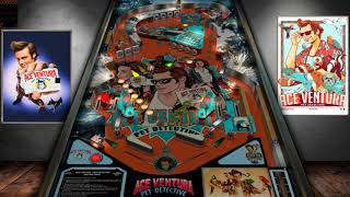 Ace Ventura Pet Detective Pinball (WIP) VPX