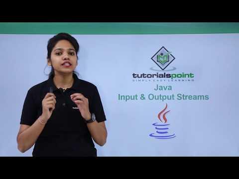 Java - Input & Output Streams
