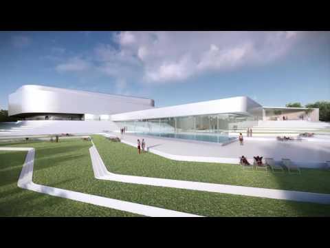 Projet de salle multi-activités à Chaumont porté par l'Agglomération de Chaumont.