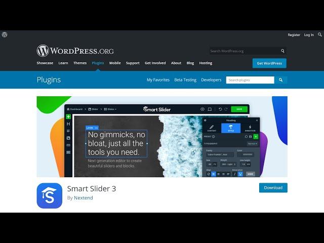 How To Install Smart Slider WordPress Plugin Free