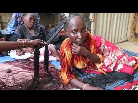 Le secret des longs cheveux crépus au Tchad