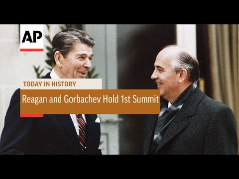 Reagan and Gorbachev Hold First Summit - 1985 | Today in History | 19 Nov 16