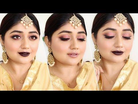 Indian festive Makeup for Diwali 2017 | corallista