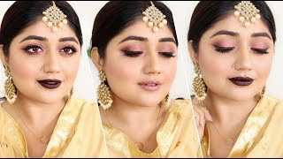 Indian festive Makeup for Diwali 2017 Instagram page mentioned : ht...