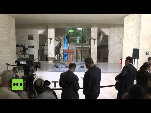 LIVE: Intra-Syria talks continue in Geneva: Press statement by De Mistura