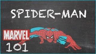 Bitten by a Radioactive Spider - Spider Man - MARVEL 101