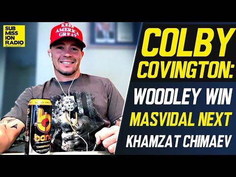 Colby Covington on Woodley Win, Jorge Masvidal Next, Khamzat Chimaev, Khabib/Gaethje at UFC 254