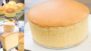 How to Make Soft Sponge Cake Recipe
