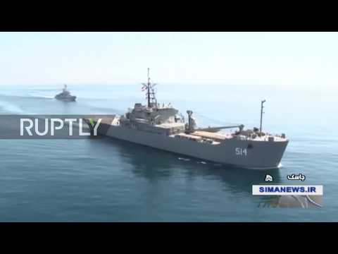 Iran: Navy's newest warships join large-scale drills in Gulf of Oman