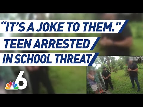 Teen Arrested After Allegedly Making School Threat In Online Group Chat | NBC 6