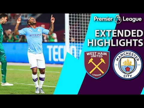 West Ham v. Manchester City | PREMIER LEAGUE ASIA TROPHY EXTENDED HIGHLIGHTS | 7/17/19 | NBC Sports
