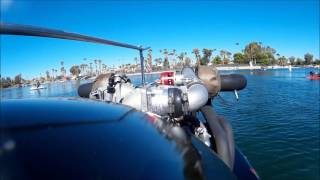 Twin Turbo Drag  Boat