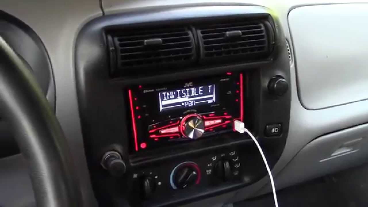 1999 ford ranger cd radio wiring diagram 3 way switch split receptacle installing a new into my youtube