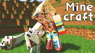 【Minecraft】資材あつめのまったりイクラ【尾丸ポルカ/ホロライブ】