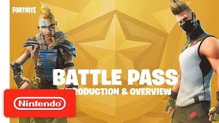 Fortnite | Battle Pass Introduction & Overview Trailer - Nintendo Switch