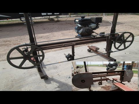 Collection of Homemade Sawmill  Build Video's