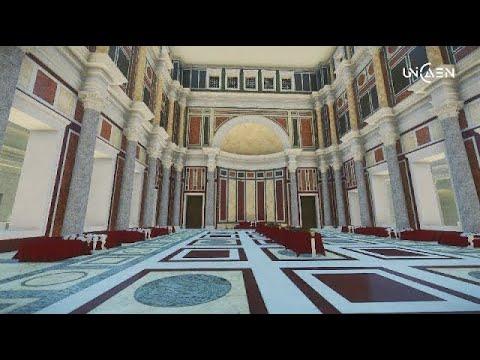 Le Palais des empereurs [3D] - Nocturne du Plan de Rome - 10 jan. 2018