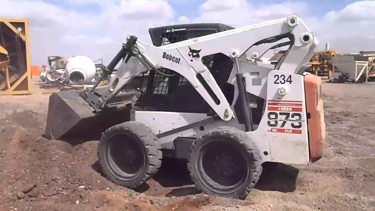 hight resolution of bobcat 873