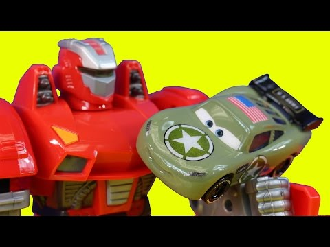 Disney Pixar Cars Army Car Lightning McQueen & Mater Save Toy Story Buzz Lightyear Imaginext Alien