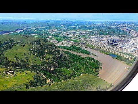 Landing in Billings MT 2018