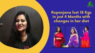 How Rupanjana Das lost 18 Kgs in just 4 Months, Watch Her Transformation Story