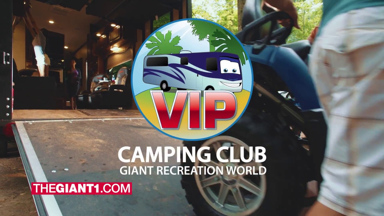 giant recreation world rv camping club youtube