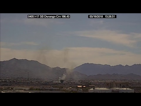 NOW: Anyone else seeing this smoke in South Phoenix?!