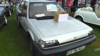 1988 Honda Ballade Up Close