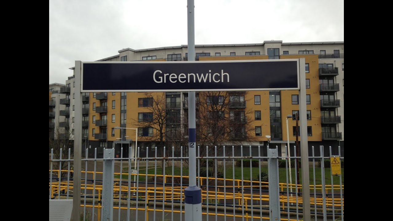 how to get to greenwich by train