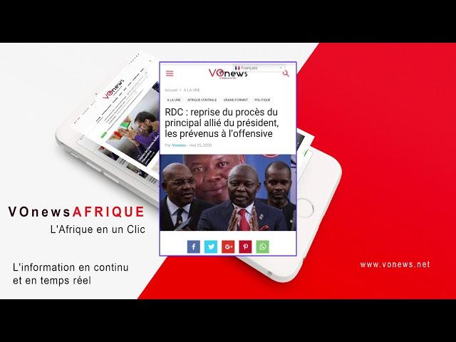 REVUE DE PRESSE 20 MAI | RDC : reprise du procès du principal allié du président