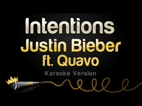 Justin Bieber ft. Quavo - Intentions (Karaoke Version)