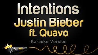 Download Lagu Justin Bieber ft Quavo - Intentions Karaoke Version MP3