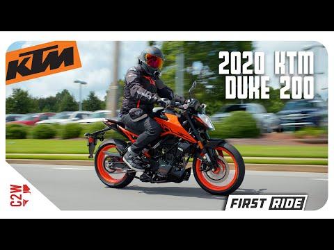 2020 KTM Duke 200   First Ride