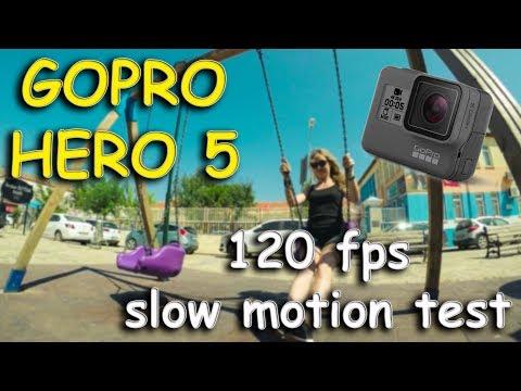 Gopro Hero 5 Black / 120 fps slow motion cinematic video test...