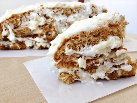Торт Медовик со сметанным кремом пошаговый фото рецепт