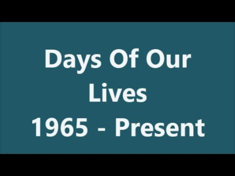 Days Of Our Lives   Compilation