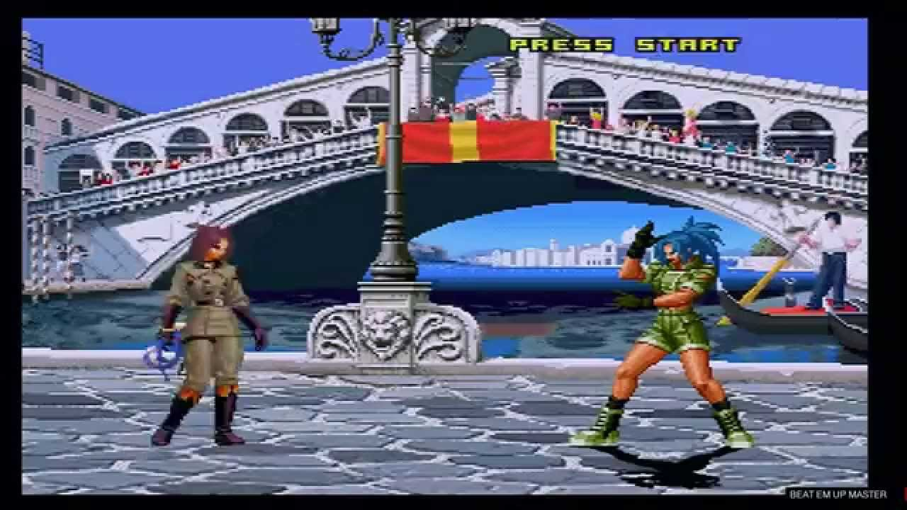 the king of fighters 2001, ron kof
