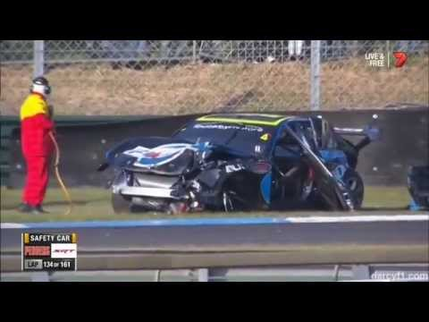 Lee Holdsworth's Huge Crash - 2014 Sandown 500