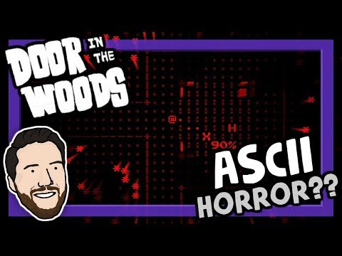 3D ASCII Art HORROR (And It's Somehow Good??) | Let's Play Door In The Woods | Graeme Games